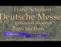 Schubert Deutsche Mes...
